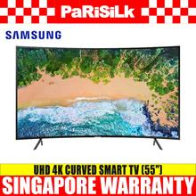 SAMSUNG UA55NU7300KXXS UHD 4K Curved Smart TV (55-inch) - Singapore Warranty