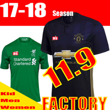 ★Men /Women and Kids Flat Price★ ● 17/18 SOCCER JERSEY SET● FOOTBALL JERSEY SET  / Liverpool