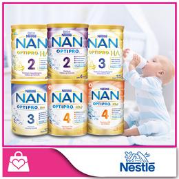 [Nestle]Nan OPTIPRO® H.A. 2 Follow-Up/H.A. 3 Growing Up/Kid 4 Growing Up Milk/Gro 3 Growing Up Milk