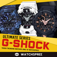 [APPLY 25% OFF COUPON] *CASIO GENUINE* CASIO G-SHOCK ULTIMATE SERIES! Free Shipping!