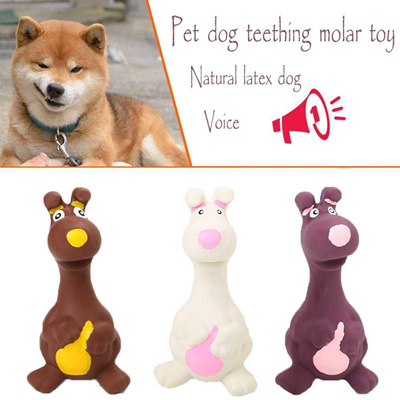 ee395ca1038f3 online 2019 New StyleMolar Cleaning Teeth Natural Latex Dog Sounding Toy Dog  Supplies Training Toys