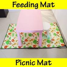★11 Designs★Picnic Mat★Feeding No Mess Floor Play Mat★Waterproof Lightweight Foldable★Baby Kids★