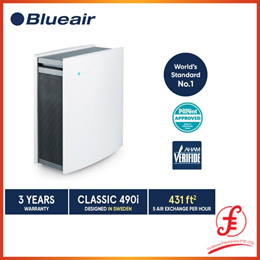 Blueair Air Purifier Classic 490i with DualProtection Filter WIFI ENABLED (490i)