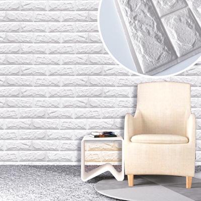 Qoo10 - PE Foam Wall Stickers 3D Wallpaper DIY Wall Decor Brick ...