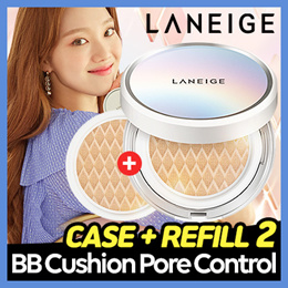 ❤ 1+1 ❤ Qoo10 Lowest / Laneige BB Cushion_Whitening 15g*2 / for your flawless makeup!