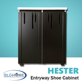 【HESTER】 Shoe Storage Cabinet/ Shoe Organizer/Household Furniture/Shoe Compartment/ Shoe Rack