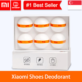 💖LOCAL SELLER💖[6pcs Xiaomi Youpin Clean Fresh Shoes Deodorant] Mini Dry Deodorizer Air Purifying S