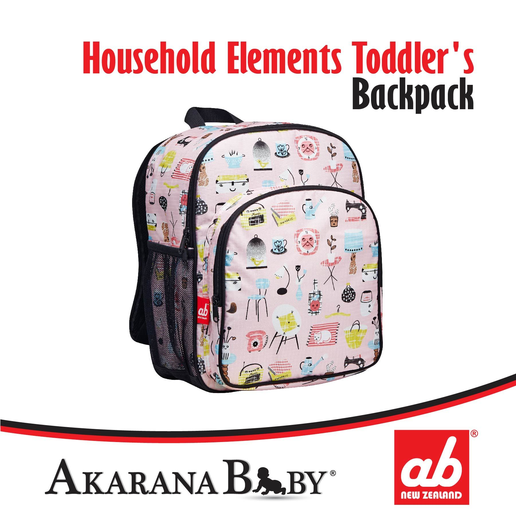 f367097597f5 Qoo10 - ab NZ Toddler Backpack   ab NZ Kids Canvas Backpack ...