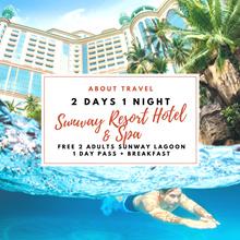 Kuala Lumpur: 2D1N Sunway Resort Hotel (FREE 2 Adults Sunway Lagoon Water Theme Park + Breakfast