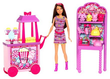 Barbie Sisters Popcorn & Souvenirs Playset