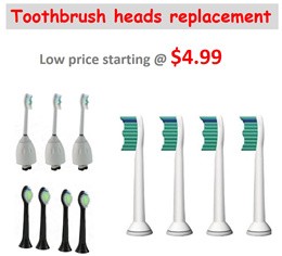 4pcs   Philips  Sonicare Brush Heads replacement  Toothbrush Heads  Flexcare Diamond HydroClean 87d610769381