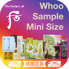 [Market A] The History of Whoo / Korean Beauty / smple / Minisize / mkup / Mask / Sample