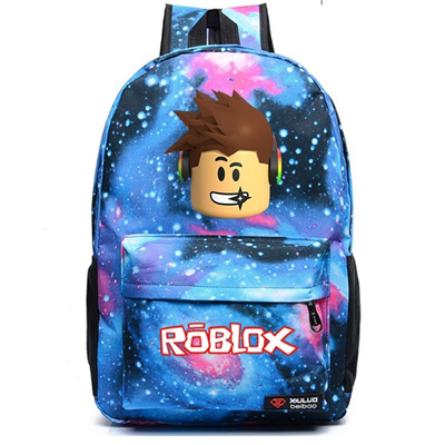 ff3d7eaf044 Roblox school bag casual backpack teenagers Kids Boys Children Student  School Bags travel Shoulder B