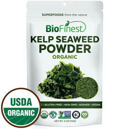 ★Kelp Seaweed Powder ★100% Pure Freeze-Dried Superfood ★Boost Digestion Detox Weight Loss 114g