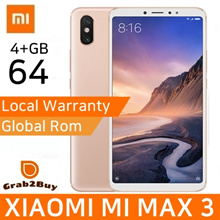 XIAOMI MI MAX 3 64GB PLAYSTORE INSTALLED / EXPORT SET / 1MNTH FREE WARRANTY