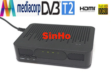 Hot sale Singapore Mini HD DVB-T2 Mediacorp digital tv box terrestrial digital tv receiver DVB-T2 mini dvb t2 fast shipping free shipping+gift