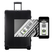 ★ Coupon price $ 1045 Including tax ★ Rimowa Carrier Topaz Stealth Multi-Wheel 73 size electronic tag