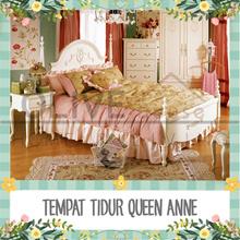 Queen Anne Queen Bed 1800 (FREE ONGKIR JAWA BALI)