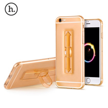 [HOCO SOFT TRANSPARENT TPU PHONE COVER RING BUCKET CASE FOR IPHONE 6 / 6S] 1 PIECE HOCO 4.7 INCH SOF