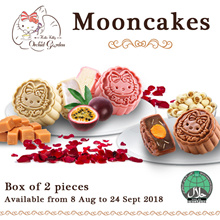 Early Bird Discount! ★Limited Hello Kitty Mooncakes★ 8 Aug - 7 Sept