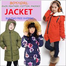 Children winter jacket / winter coat / down jacket /Boys n Girls winter wear kids winter jacket