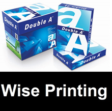 Double A 70/80 Gsm A4 Paper 2 Boxes ( 10 Reams ) ( Free Delivery )