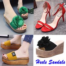 Women heels sandals ★ Korea style★ Slimming Shoes★sandals★summer Shoes★