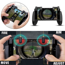 Full Set PUBG Mobile Game Controller Shooter Trigger Fire Button for IOS IPhone