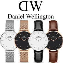 【Valentines Day Gift】100% AUTHENTIC★Daniel Wellington 28mm/32mm Watch ★Mesh and Leather Strap★