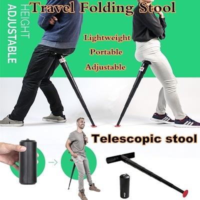 Outdoor Portable Cylinder Folding Stool / Subway Chair /Jorbest Portable  Travelling Folding Stool
