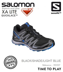 Salomon XA Lite Men Trail Black/Shade/LightBlue. FREE SHIPPING!