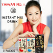 [3 PACKS BUNDLE]✮NO 1 SELLING HEALTHY BEAUTY BEVERAGE✮纖Q好手藝 Slim Q Powder Packet Drink✮Perfect for Beauty Maintenance✮Red Bean Powder Barley Powder and Black Bean Powder✮100% NATURAL✮