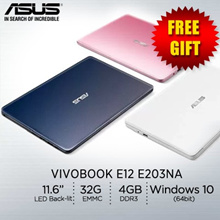 ASUS VivoBook E12 E203NA / lightweight 11.6-inch laptop /1 Years International warranty