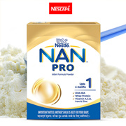 Nestlé NAN PRO 1 Infant Formula Powder (Upto 6 months) Stage 1-400g