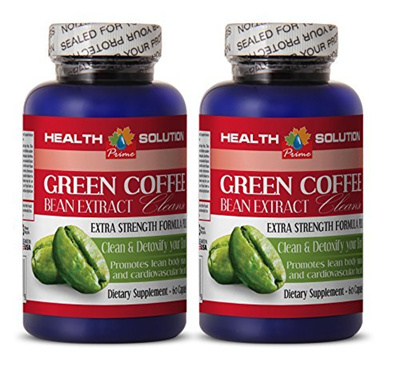 Health Solution Prime Green Coffee Beans Extract Powder - GREEN COFFEE BEAN  EXTRACT CLEANSE - Metabo