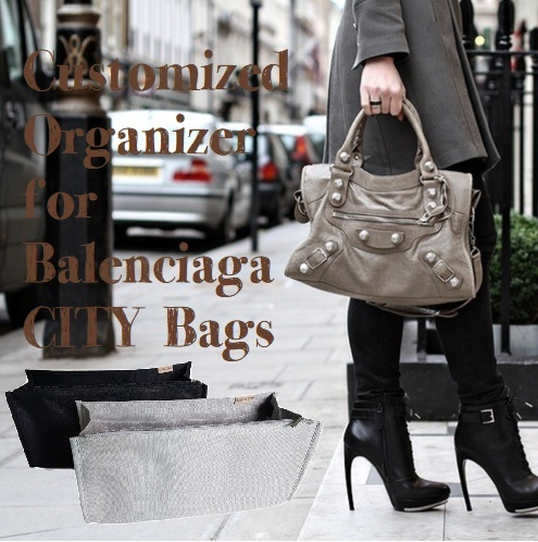 1a22296c4d1d actual size. prev next. Customized 2-in-1 Organizers for Balenciaga CITY  Bags