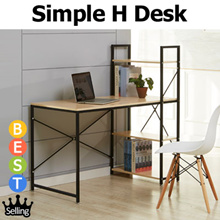 [BLMG_SG] 1200/1500mm the Biggest board/ Upgraded Simple H Type Desk★Student Desk★Furniture★Table★St