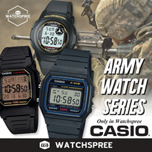 *CASIO GENUINE* ARMY WATCH SERIES. F91W F200W F94WA. Digital Sports.