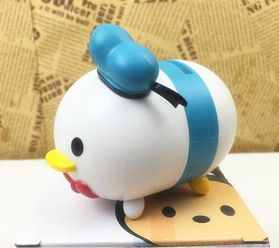 Di Dini Tsum Pooh Mickey Minnie Donald Duck Mini Piggy Bank Ornaments Gift Collection