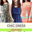TREND chic dress-cocktail-casual dress-dress wanita-pakaian wanita-branded
