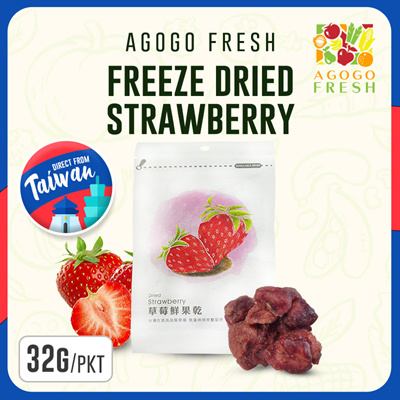 Freeze Dried Strawberries 32g/pack