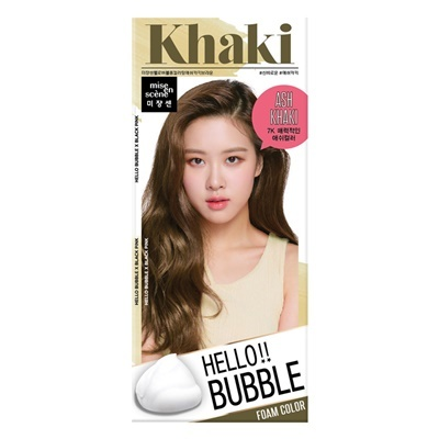 Mise en scene Hello bubble 7K Ashkhaki brown