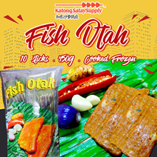Fish Otah [ 45g x 10 pcs] [Cooked Frozen]