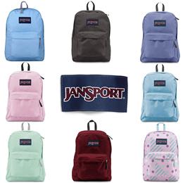 Jansport Superbreak backpack Bag [Multiple Colours] 100% Authentic