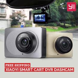 100% Original Xiaomi Xiaoyi Yi Smart Car DvR Dashcam (Camera Mobil)Free Ongkir Jakarta!!!