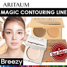 [BREEZY]★ [ARITAUM] Magic Contouring Cream 6g  / Highlighter 7.5g / Powder 7g
