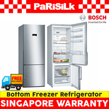 Bosch KGN56XI40 Bottom Freezer Refrigerator (559L) - Singapore Warranty