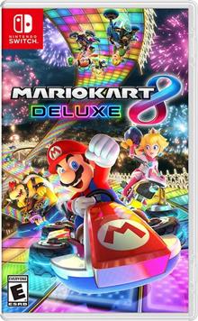 Nintendo Switch Region Free Mario Kart 8 Deluxe