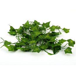 2M Long Artificial Plants Green Ivy Leaves Artificial Grape Vine Fake Foliage Leaves Home Party Wedd