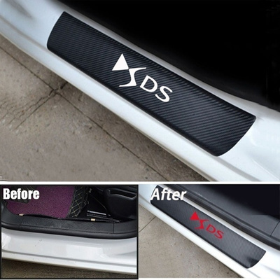 Toryea 4PCS Outer Door Entry Stainless Steel Sill Guards Protectors Fit Ford Edge 2015 2016 2017 2018